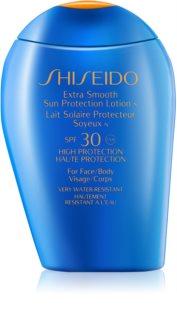 Shiseido Sun Protection Sonnenlotion für Gesicht und Körper SPF 30
