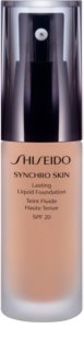 Shiseido Makeup Synchro Skin Lasting Liquid Foundation стійкий тональний крем SPF 20