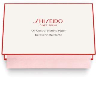 Shiseido Generic Skincare Oil Control Blotting Paper серветки з матуючим ефектом для комбінованої та жирної шкіри