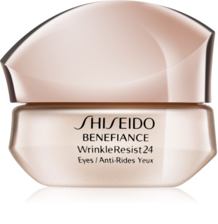 Shiseido Benefiance WrinkleResist24 intensywny krem pod oczy przeciw zmarszczkom