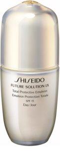 Shiseido Future Solution LX émulsion de jour protectrice SPF 15