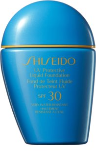 Shiseido Sun Care Protective Liquid Foundation αδιάβροχο υγρό μεικ απ SPF 30