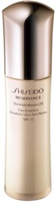 Shiseido Benefiance WrinkleResist24 Day Emulsion SPF15 emulsie anti-imbatranire SPF 15