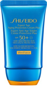 Shiseido Sun Care Expert Sun Aging Protection Cream WetForce αντηλιακή κρέμα προσώπου SPF 50+
