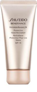 Shiseido Benefiance WrinkleResist24 Protective Hand Revitalizer SPF15 crème rénovatrice et protectrice mains SPF 15