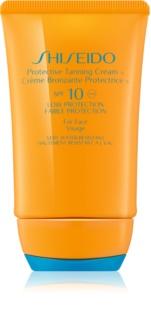 Shiseido Sun Protection opaľovací krém na tvár SPF 10