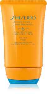 Shiseido Sun Protection Tanning Cream for Face SPF 6