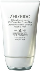 Shiseido Sun Care Urban Environment UV Protection Cream Plus crema hidratante protectora SPF 50