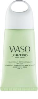 Shiseido Waso Color-Smart Day Moisturizer creme de dia hidratante para uniformizar o tom da pele não contém óleo