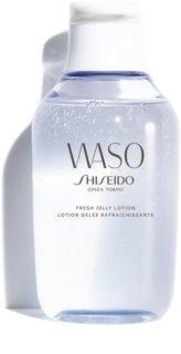 Shiseido Waso Fresh Jelly Lotion cuidado de día y noche sin alcohol