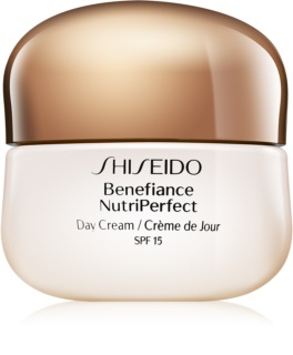Shiseido Benefiance NutriPerfect Day Cream SPF15 омолоджуючий денний крем SPF 15