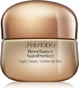 Shiseido Benefiance NutriPerfect Night Cream Revitaliserende Nachtcrème tegen Rimpels