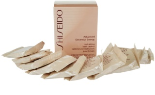 Shiseido Body Advanced Essential Energy fürdőtabletták
