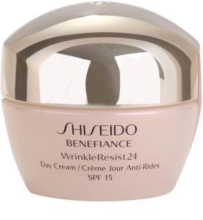 Shiseido Benefiance WrinkleResist24 денний крем проти зморшок SPF 15