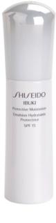 Shiseido Ibuki зволожуючий захисний крем SPF 15