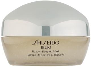Shiseido Ibuki nočná maska na skrášlenie pleti
