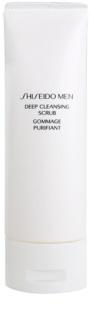 Shiseido Men Cleanse oczyszczający peeling do twarzy dla mężczyzn