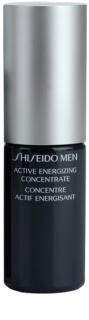 Shiseido Men Total Age-Defense fiatalító koncentrátum a bőr kisimításáért és a pórusok minimalizásáért