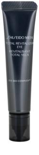 Shiseido Men Total Age-Defense crema para contorno de ojos con efecto lifting antiarrugas y antiojeras