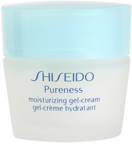 Shiseido Pureness hydratisierende Gel-Creme für normale Haut und Mischhaut