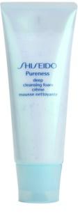 Shiseido Pureness дълбоко почистваща пяна-крем с микро гранули