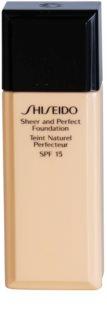 Shiseido Base Sheer and Perfect Liquid Foundation SPF15