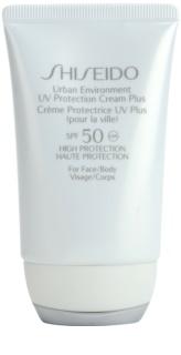 Shiseido Sun Protection crema hidratante protectora SPF50