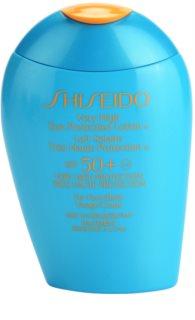 Shiseido Sun Protection mleczko do opalania do twarzy i ciała SPF 50+