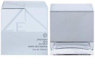 Shiseido Zen for Men White Heat Edition Eau de Toilette voor Mannen 50 ml