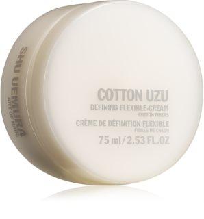 Shu Uemura Cotton Uzu στάιλινγκ κρέμα για σγουρά μαλλιά