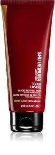 Shu Uemura Color Lustre balsam pentru par blond
