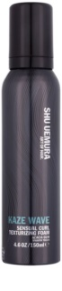 Shu Uemura Kaze Wave Hair Mousse for Curl Definition