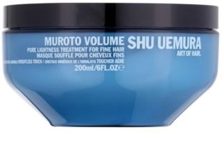 Shu Uemura Muroto Volume maseczka  do włosów delikatnych