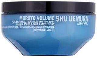 Shu Uemura Muroto Volume маска  за фина коса