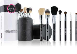 Sigma Beauty Travel Kit Make-up Brush Set with Pouch Travel Package