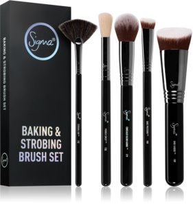 Sigma Beauty Baking & Strobing Set av borstar