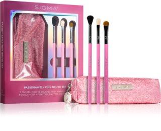 Sigma Beauty Passionately Pink  σετ με πινέλα με θήκη