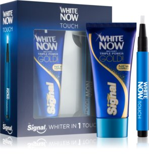 Signal White Now Triple Power Gold kosmetická sada I.