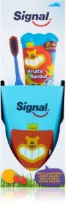 Signal Kids Set para dentes perfeitamente limpos I. (para crianças )