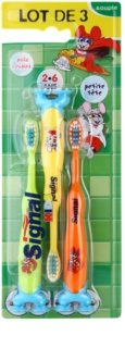 Signal Kids Toothbrushes for Kids 3 pcs