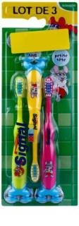Signal Kids zubní kartáčky pro děti 3 ks
