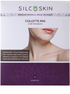 SilcSkin Collette Pad Anti-Wrinkle Silicone Pads for Neck Area