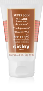 Sisley Sun voděodolný opalovací krém na obličej SPF 15