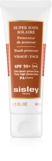 Sisley Sun водоустойчив крем за лице за изкуствен тен SPF 50+