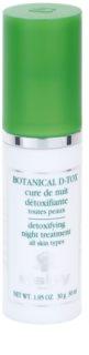 Sisley Botanical D-Tox ser de noapte pentru toate tipurile de ten