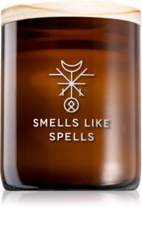 Smells Like Spells Norse Magic Thor bougie parfumée avec mèche en bois (concentration/career)