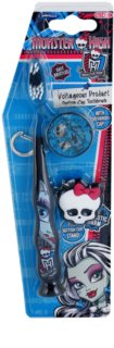 SmileGuard Monster High Kids' Toothbrush with Travel Cap and Key Ring Soft