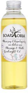 Soaphoria Babyphoria masážny a kúpeľový olej na dobrú noc pre deti