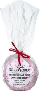 Soaphoria Lavender Fields koupelový balistik s regeneračním účinkem