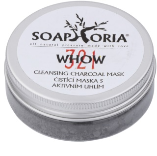 Soaphoria Organic Cleansing Mask in Powder with Activated Charcoal